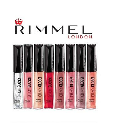 RIMMEL OH MY GLOSS! LIPGLOSS BRAND NEW Choose your colour