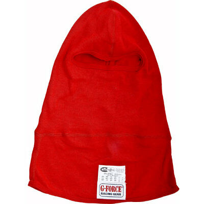 G-FORCE 41121L1RD Single Layer Nomex Hood Single Eyeport Red