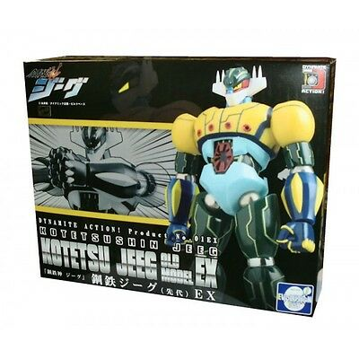 Dynamite Action 01 Ex Old Model Kotetsu Shin Jeeg Robot D'acciaio Die Cast