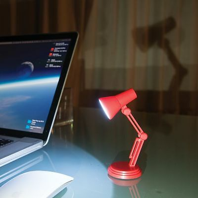 Adjustable Small Reading LED Clip Desk Lamp Light Night Book Reader Travel Mini