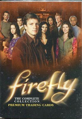 Inkworks Firefly The Series Complete 72 Card Base Set