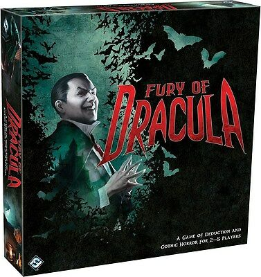 Fury of Dracula (Board Game Fantasy Flight Halloween Exclusive Vampires) NEW