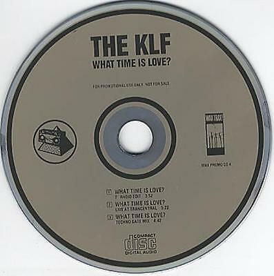 The KLF What Time Is Love? PROMO MUSIC AUDIO CD Live Trancentral Techno Gate Mix