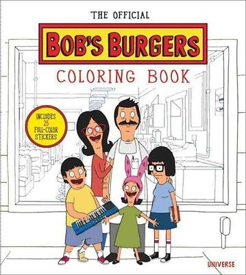 The Bob's Burgers Adult Coloring Book 9780789328755, Paperback, BRAND NEW