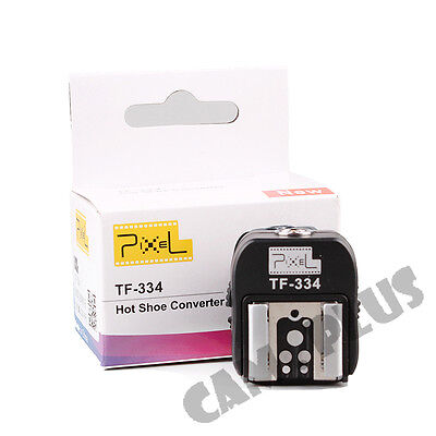 PIXEL TF-334 Hot Shoe Converter for Sony MI A6300 RX10 convert to Canon Nikon