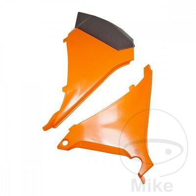 For KTM EXC 125 2T 2012 Polisport Airbox Cover Orange