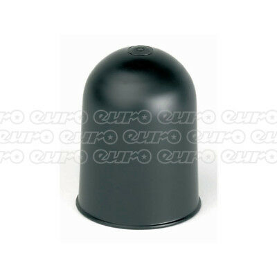 Tow Ball Cover Plastic Black Towing Trailer Caravan - Ring Automotive RCT700
