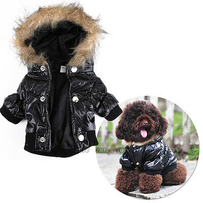 Pet Dog Clothes Chihuahua Winter Autumn Warm Jacket Coat For Puppy Hoodie Gift