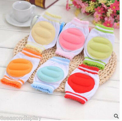FL Baby Crawling Knee Pads Kids Safety Crawling Elbow Cushion Protection