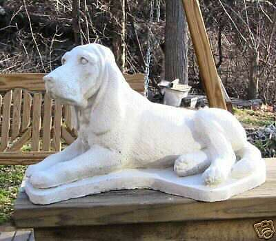 Concrete Bloodhound 0R ,coonhound Dog Statue Or Use As Monument