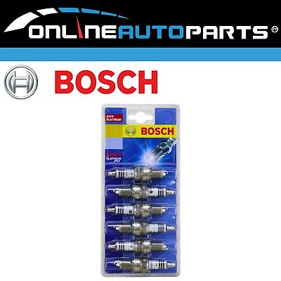 Set of 6 Bosch Platinum Spark Plugs for Ford Falcon AU I II III 6cyl 4.0L 98-02