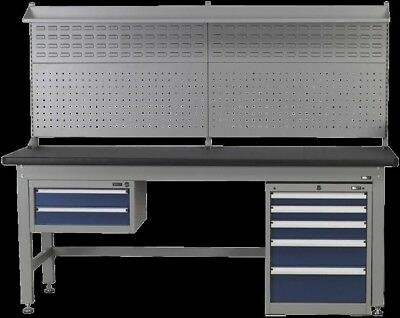 Sealey 1.8m Complete Industrial Workstation and Cabinet Combo API1800COMB02