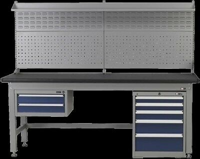 Sealey 1.5m Complete Industrial Workstation and Cabinet Combo API1500COMB02