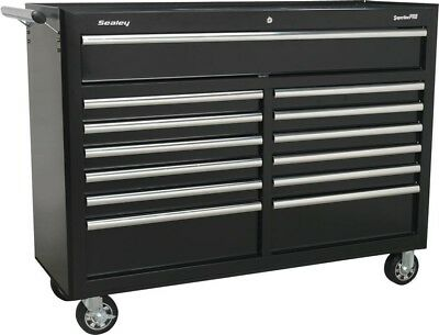 Sealey Rollcab 13 Drawer with Ball Bearing Runners | Black