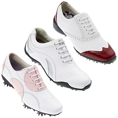 Footjoy Womens Lopro Golf Shoes - New Ladies Fj Waterproof Leather Sport