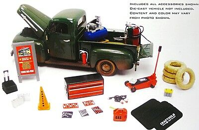 Hobby Gear Mobile Mechanic 18415 1:24 Diorama Accessorys Phoenix Car Not Incl.