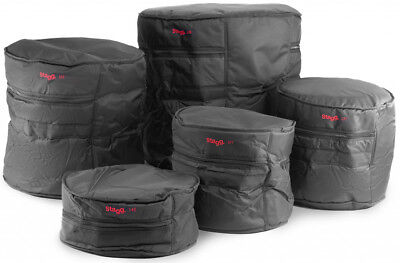 Stagg PBS-4 ECO/5 LA Rock Fusion Drum Case Bag Set