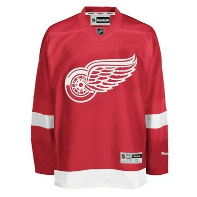 Reebok Premier Detroit Red Wings NHL Jersey / Shirt Senior - Red/Home