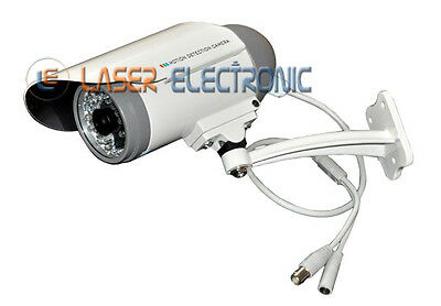 Telecamera Waterproof Led Visione Notturna E Dvr Motion Detection + Sd Card 32Gb