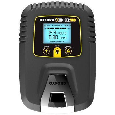 New Oxford Oximiser 900 Battery Charger Tender Micro Processor Controlled