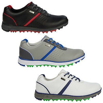 Stuburt Mens Cyclone Event Spikeless Golf Shoes - New Casual Waterproof 2016