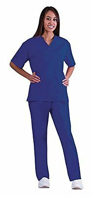 NEW Natural Women's Medical Scrub Set - True Navy - Size: Small