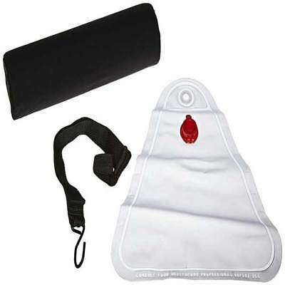 Cervical Traction System w/ Roll Adjustable Head Harness & Adjustable Weight Bag