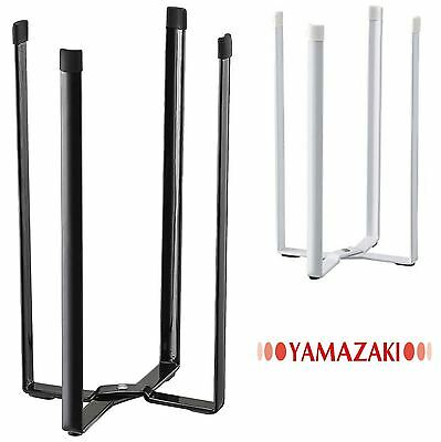Yamazaki Tower Kitchen Eco Drying or Hanging Stand in Black or White