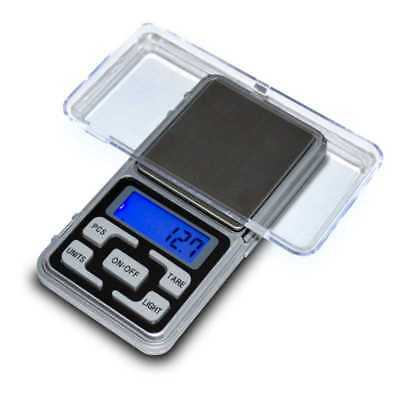 Balanza de Precision 0.1 gr 500 gr Bascula Digital Bolsillo Peso Pocket Scale