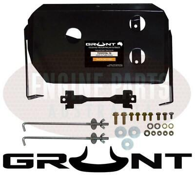 Grunt 4X4 Dual Battery Tray System Toyota Landcruiser 70 78 79 Series 2007-2012