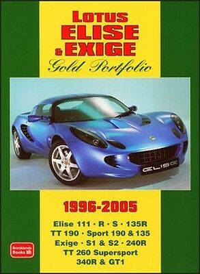 Lotus Elise & Exige Buyer's Guide Reviews & Road Test Portfolio LT96GP NEW