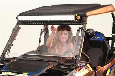 Polaris RZR Hand Operated Windshield Wiper for Hard Coat Poly Shields P/N 12841