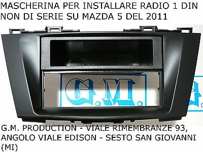 PANEL FOR INSTALLATION CAR RADIO 1 Din MAZDA 5 M5 FROM 2011
