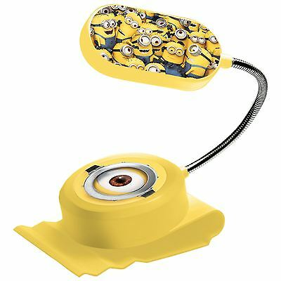 Despicable Me Minions Clip On Bed Light New Kids Bedroom Lamp