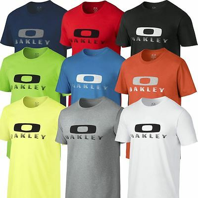 Oakley 2016 Griffin SS Training Tee Mens Cotton T-Shirt Slim Fit