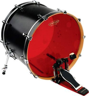 "Evans 20"" Hydraulic Red Bass Drum Head BD20HR"