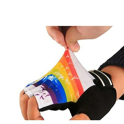 Fashion Cycling Bike Bicycle GEL Shockproof Sports Half Finger Glove Breathable