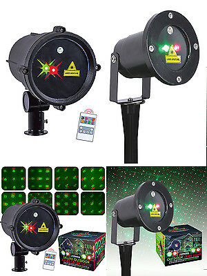 Outdoor Garden Laser Light Christmas Projector LED Festive Decoration Party