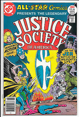 DC Comics- All Star Justice Society of America - #66 June 1977