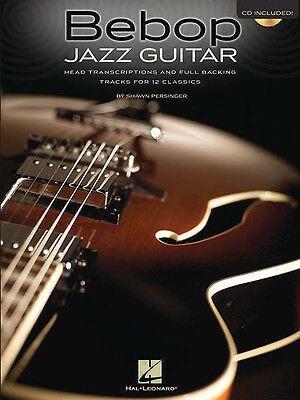 BEBOP JAZZ GUITAR Tab Sheet Music Lessons Learn 12 Songs Play-Along Book CD  NEW