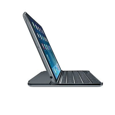 Logitech Ultrathin Magnetic Clip-On Keyboard Cover for iPad mini Space Grey (FRA