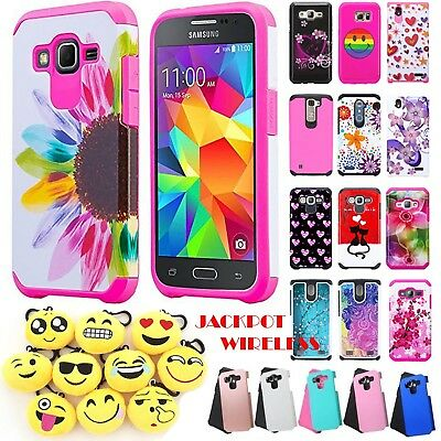 For Samsung Galaxy J7 2016 Shockproof Hybrid Rugged Rubber Hard Case Cover