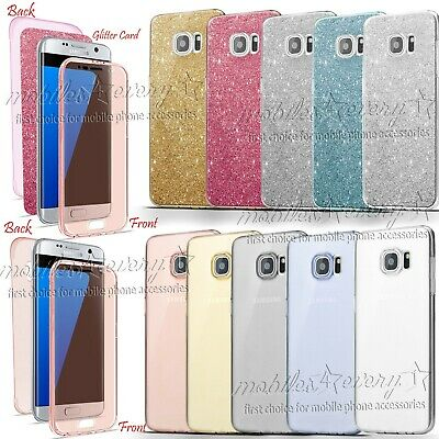 Ultra Thin 360 Clear TPU Gel Case Cover for Samsung Galaxy Phones