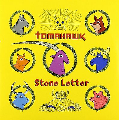 """TOMAHAWK Stone Letter Vinyl 7"""" Single LIMITED EDITION 2012 NEW & SEALED"""