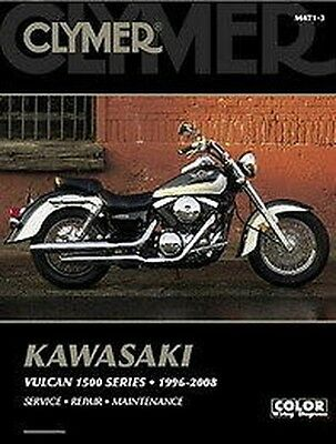 Kawasaki Vulcan 1500 VN1500 Drifter Classico Nomad 1996-08 Clymer Manuale M471-3