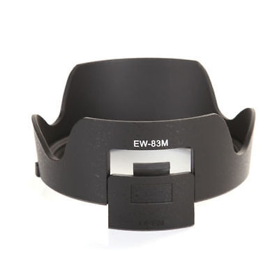 Bayonet Mount ABS Camera Lens Hood for Canon EW-83M EF 24-105mm f/3.5-5.6 IS STM