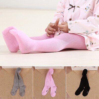 Baby Girl Kids Toddler Cotton Tights Hosiery Pantyhose Socks Stockings Trousers
