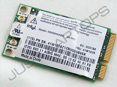 IBM Lenovo ThinkPad X60s Ordenador Portátil Mini PCI