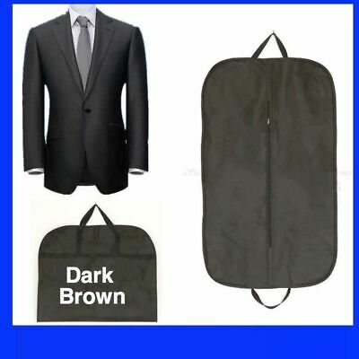 BLACK SUIT COVER BAGS Jacket Garment Storage Coat Protector Clothes Cover