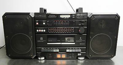 Vintage all in one - Stereo double cassette CD Player Sharp CD-X9H Radio Boombox